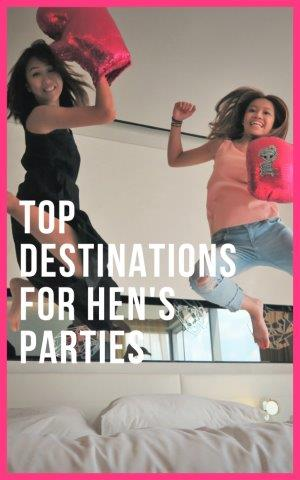 all girls getaway destinations | top bachelorette destinations