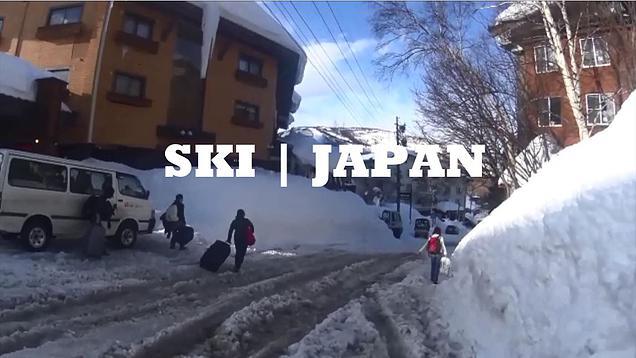 Girls Japan Skiing Trip