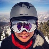 through my snowboarder eyes