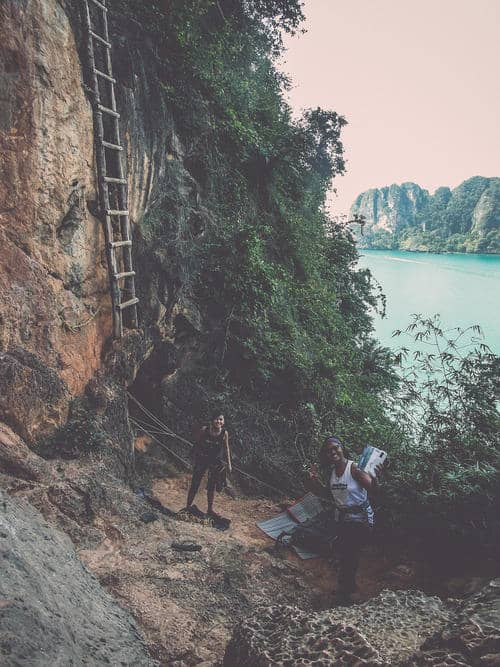 Multi-pitch at Railey, Krabi | Level 3 Outdoor Rock Climbing