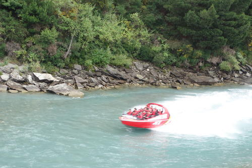 We picked Whitewater Rafting over Jetboat due to limited budget. Not necessarily the most thrilling and rough rapids in the world, but the scenery as you throttle down those river rapids are so breathtaking, you can't fully focus on paddling