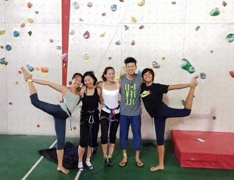 Benefits of Rock climbing - Make buddies and friends at Rock Climbing at Onsight