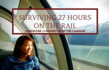 Surviving 27 Hours on Rail | Vancouver - Edmonton