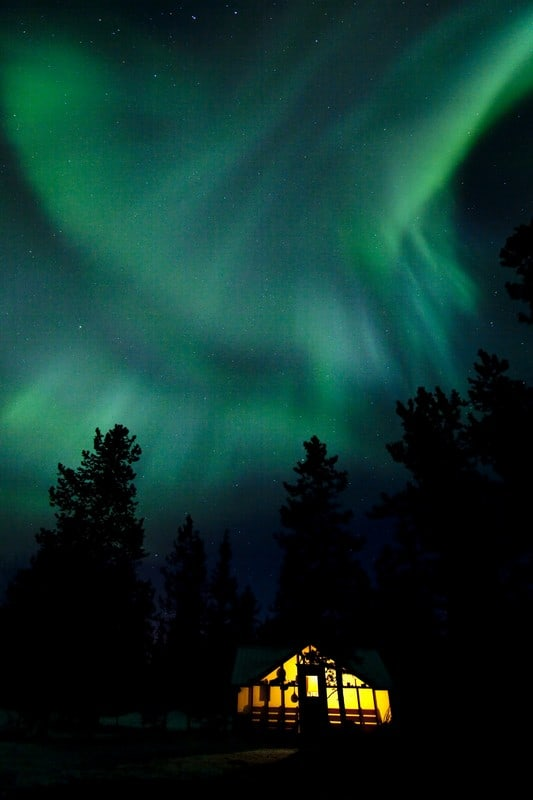 Northern Lights Sighting in Yukon