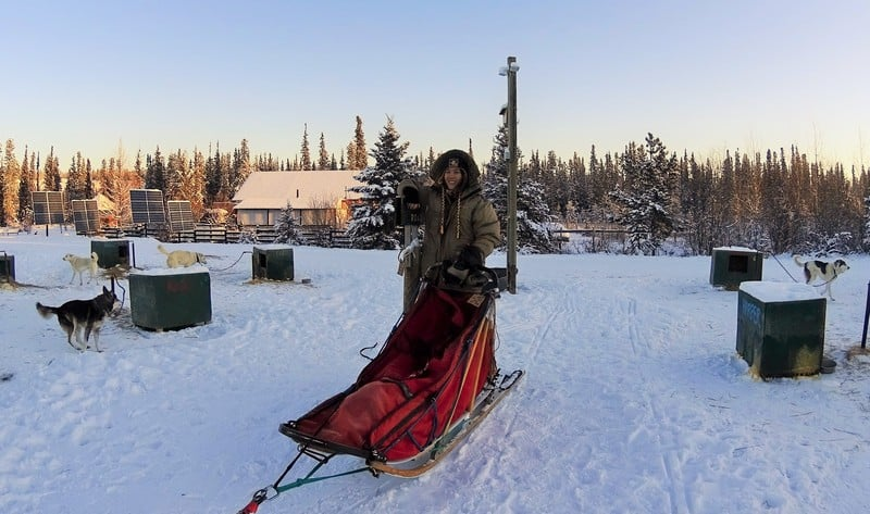 XXL Size Lydiascapes and her santa sled