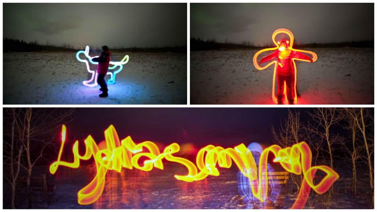 Go Crazy with Light Sticks | Whitehorse Yukon
