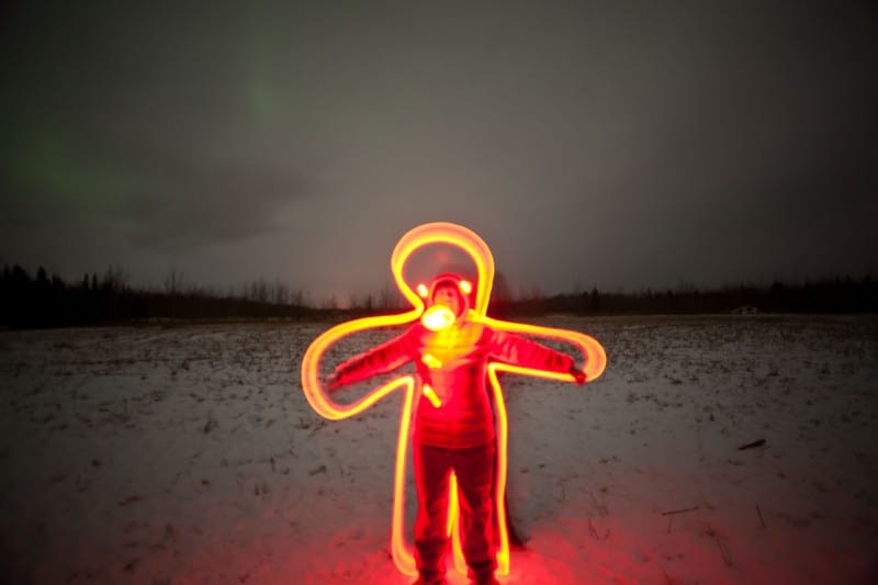7 Ways to Go Crazy with Light Sticks in Yukon | Lydiascapes com