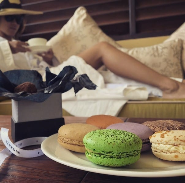 Lazy morning with macaroons, truffles and tea at St Regis Bali | Hen Party Ideas