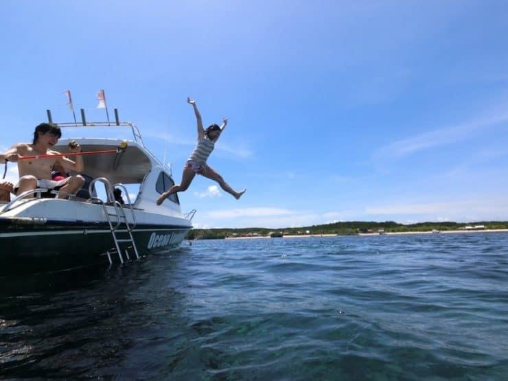 Jump Shots and Happy Moments at Crystal Bay Nusa Penida Indonesia
