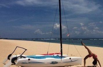 St Regis Bali Sea Sports and Yoga Moves