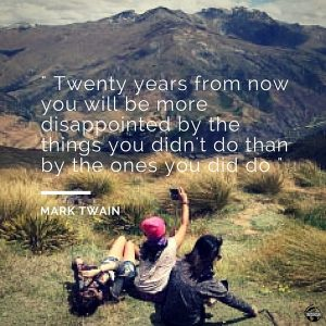 Lydiascapes Favourite Travel Quote #1 - Photo was taken amongst the lush fields of New Zealand.