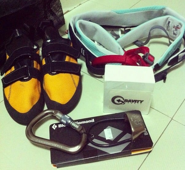 My Very First Set of Rock Climbing Gear | Crazy Rock Climbing Hobby I embarked on