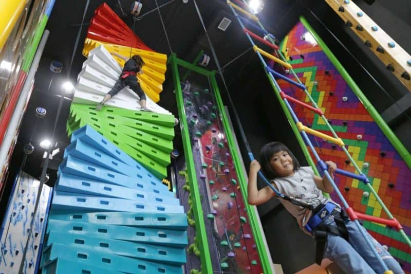 clip and climb in siingapore