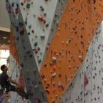 lead wall at climb central