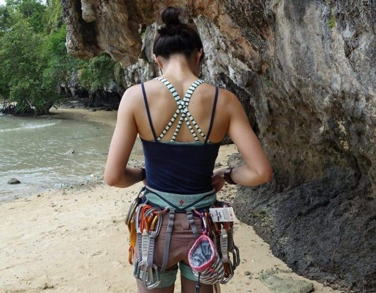 Lydia Yang Rock Climber of Lydiascapes | Rock climbing in Krabi Thailand in 2015