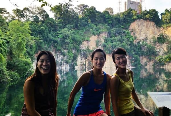 Singapore women in travel - Photo was taken at Bukit Timah Hike in Singapore | Famous female explorers to be