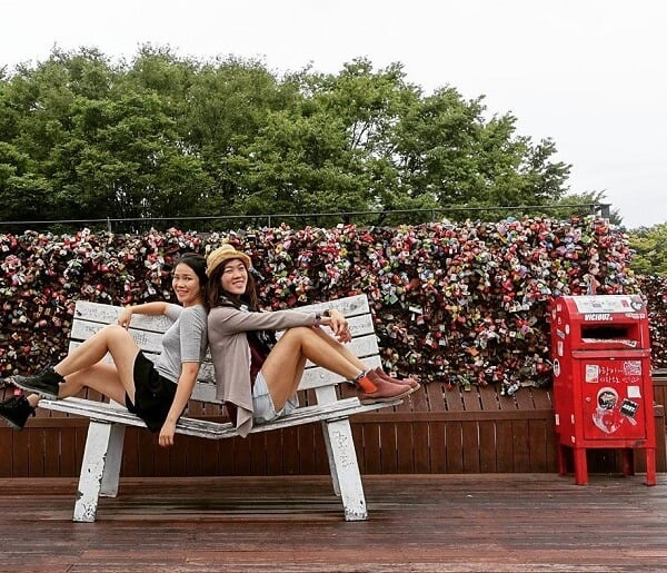 Shot was taken at Namsan Towe at Seoul South Korea. FInd out why Seoul is one of the top revisited places here | Women Adventurers