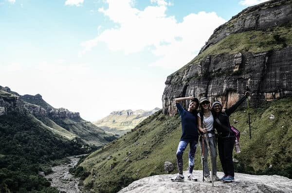 Photo was taken by Joe at Drakensburg Johannesburg in South Africa | Women Adventurers