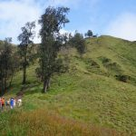 scenic view along the way | climbing mount rinjani