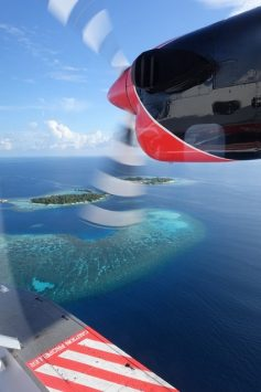 Magical maldives from the seaplane