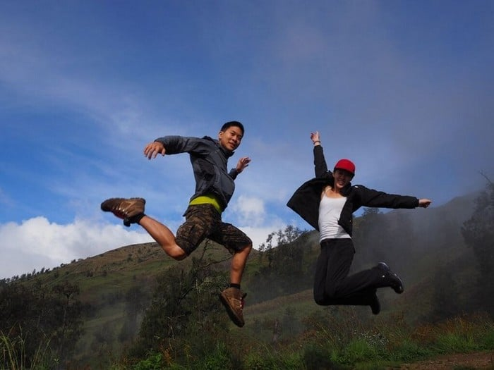when I say jump you say how high | Lombok indonesia mountains