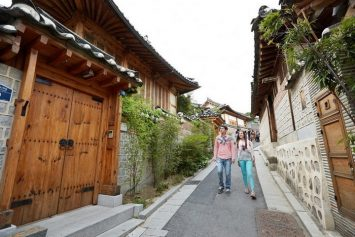 mode of transportation - Bukchon Hanok Village