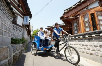 mode of transportation - Cycling around the village