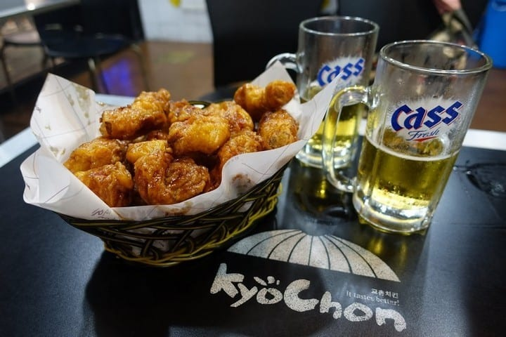 Korean Fried Chicken and Beer - LydiaScapes
