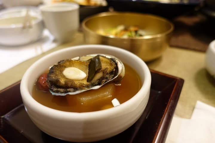 Nourishing Soup korean style herbal with clam