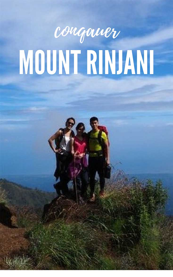 Conquering the Mount Rinjani Trek