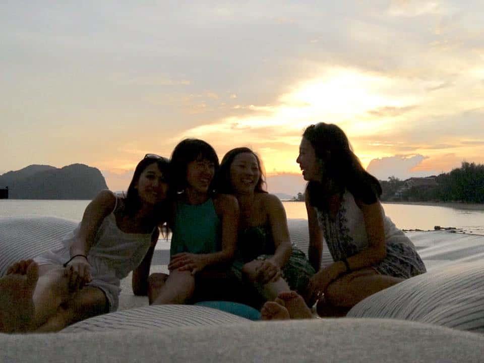 sunset and drinks | Best Island Resort Langkawi