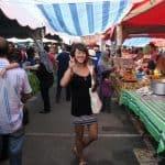 Me in the Saturday night market in langkawi