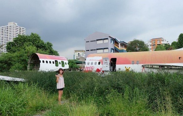 Airplane Boneyard - The planes in multiple pieces | Things to do in bangkok