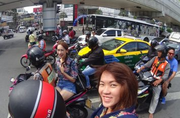 Motobiking in Bangkok