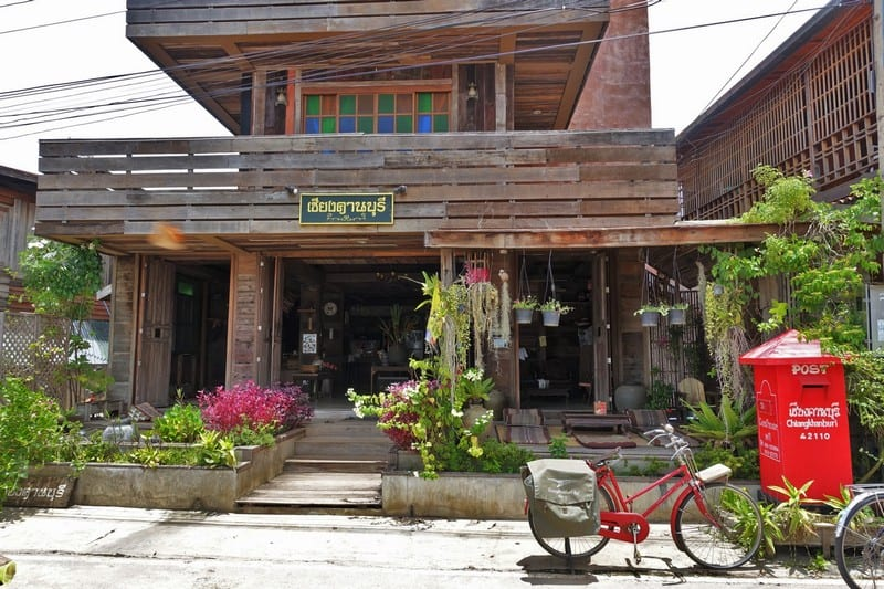 Wooden Houses of Chiang Khan