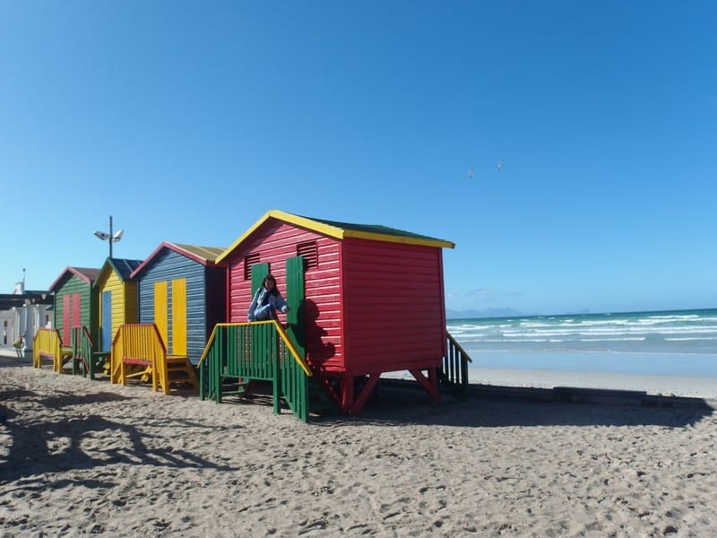 Pretty houses at Capetown