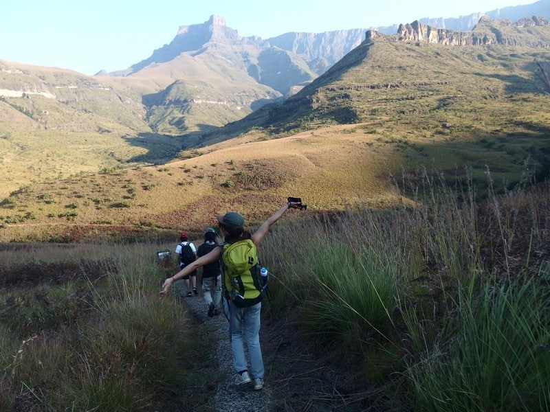 Destinations with the freshest air - Beautiful South Africa - Drakensberg Mountains in Southern Africa