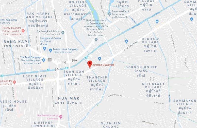 Explore an Abandoned Airplane Graveyard hidden in Bangkok | Things to do in Bangkok
