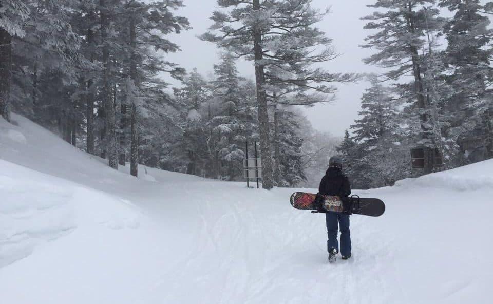 Fresh Winter Air in Japan Nagano