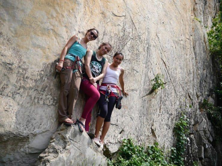 Climb all day long at Nanyang Wall. Ended up posing for photos | Rock climbing in KL Malaysia | Rock climbing near me