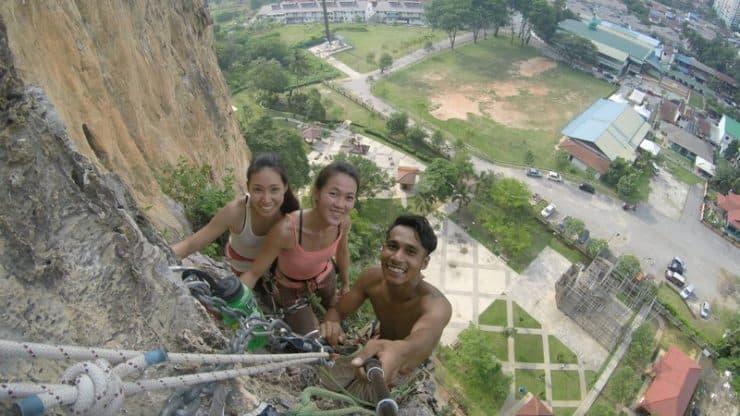 Multi Pitch Point at Batu Caves, Kuala Lumpur | Best Climbing Asia Destinations