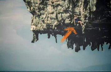 Deep water solo in krabi thailand with Lydia Yang Rock Climber from Singapore