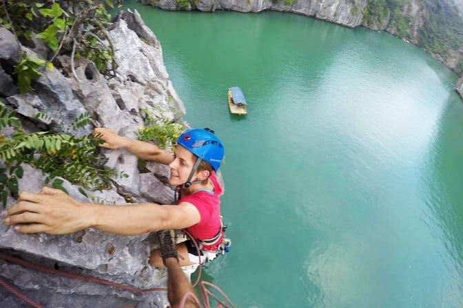Best Outdoor Rock Climbing Destinations can be found in Cat Ba Island Vietnam | Best Climbing Destinations