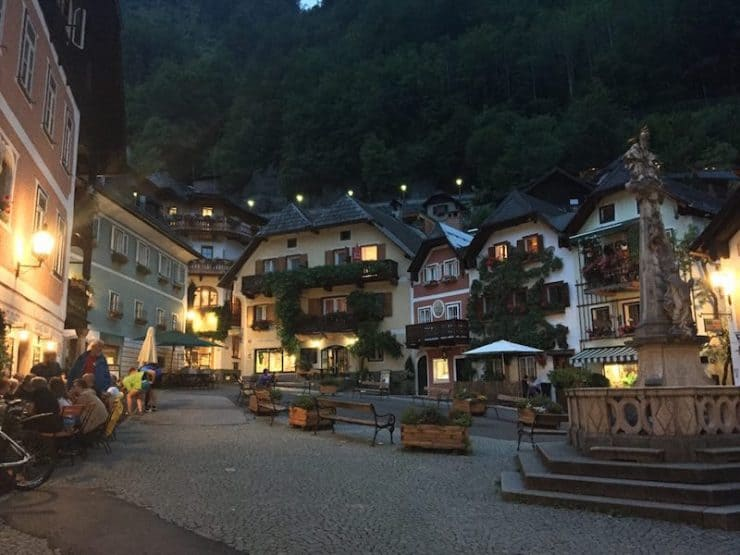 Now, here is the moment when Hallstatt begins to reveal it's true charm
