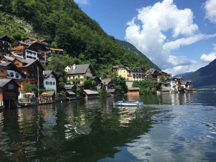 Hallstatt is Austria's oldest and probably most scenic lakeside town, so much so that it's often featured in various travel articles on real-life fairytale destinations