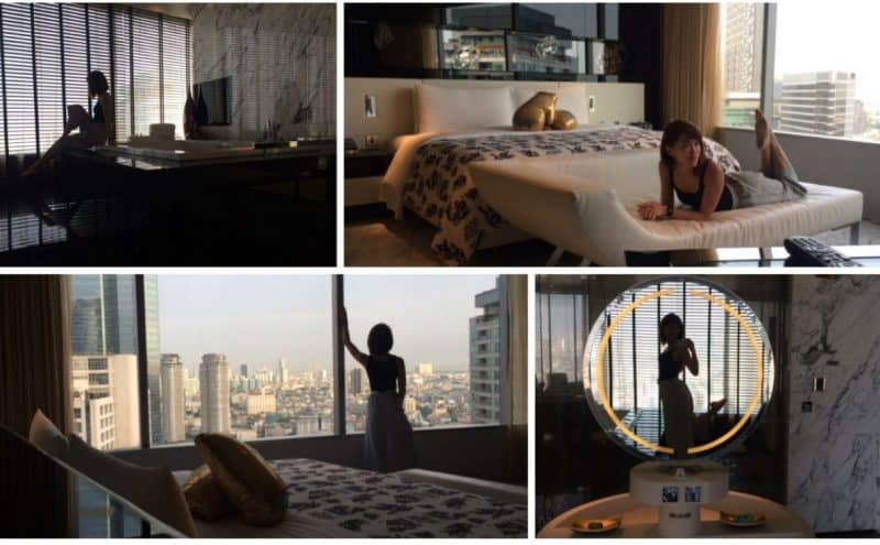 Overview of the rooms at W Bangkok