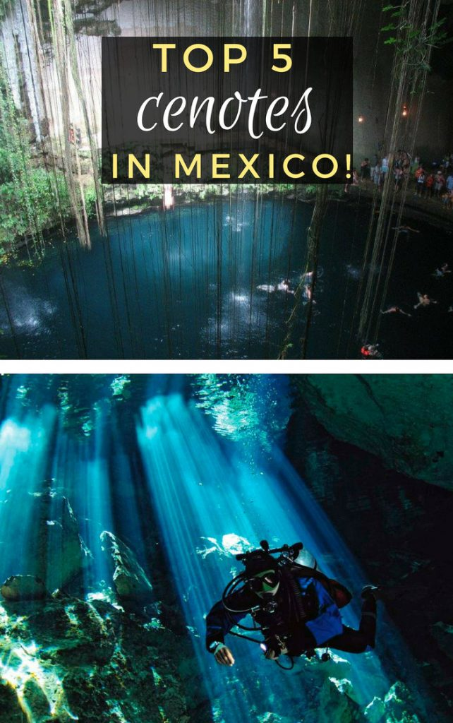 Top Cenotes and caves in Mexico