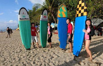 Surfing in Bali at Kuta Beach| Fun Water Activities to do in Bali