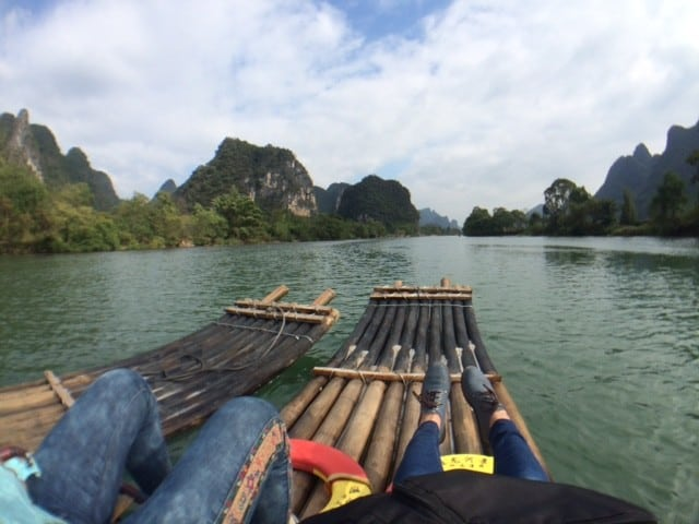 Explore China's Li River after a long day of rock climbing | Asian Rock Climber haven