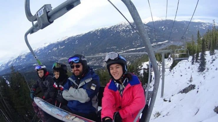 Skiing in Whistler and Lake Louise